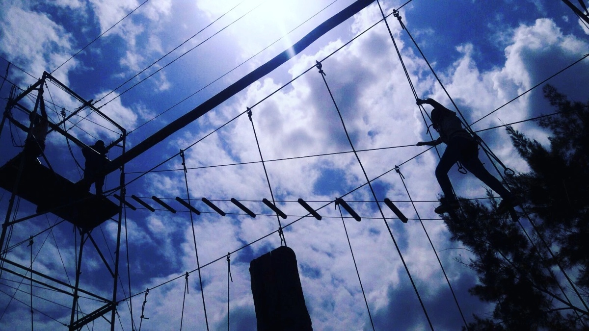 The Diguna High Ropes Challenge in Rongai