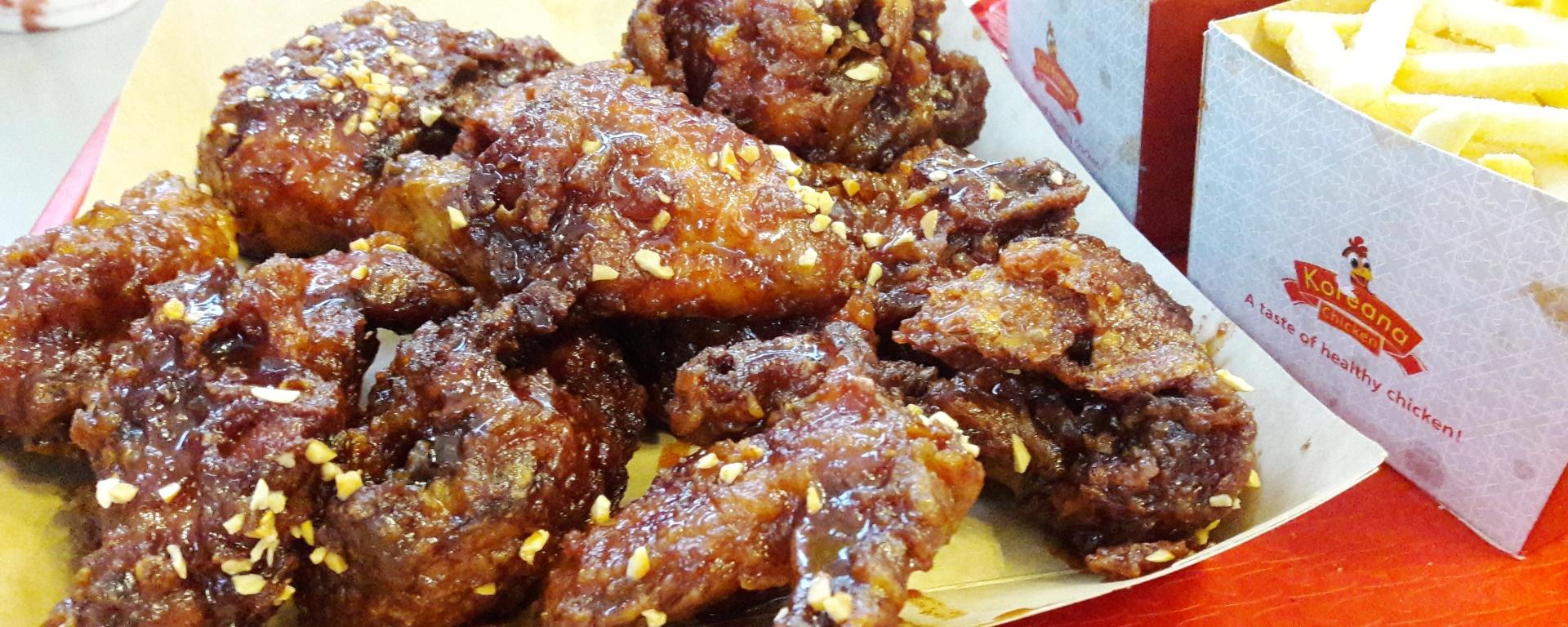 Sweet and Spicy Chicken at Koreana Chicken, Garden City Mall – Tafakari