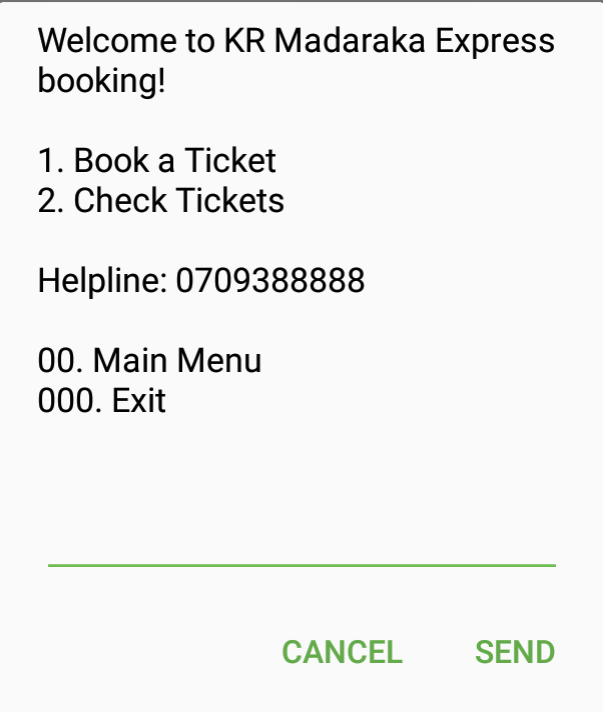 Sgr train booking *639#